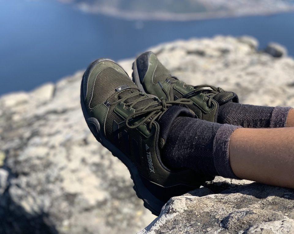 Trailschoenen die handig kunnen zijn tijdens het wandelen / hiken