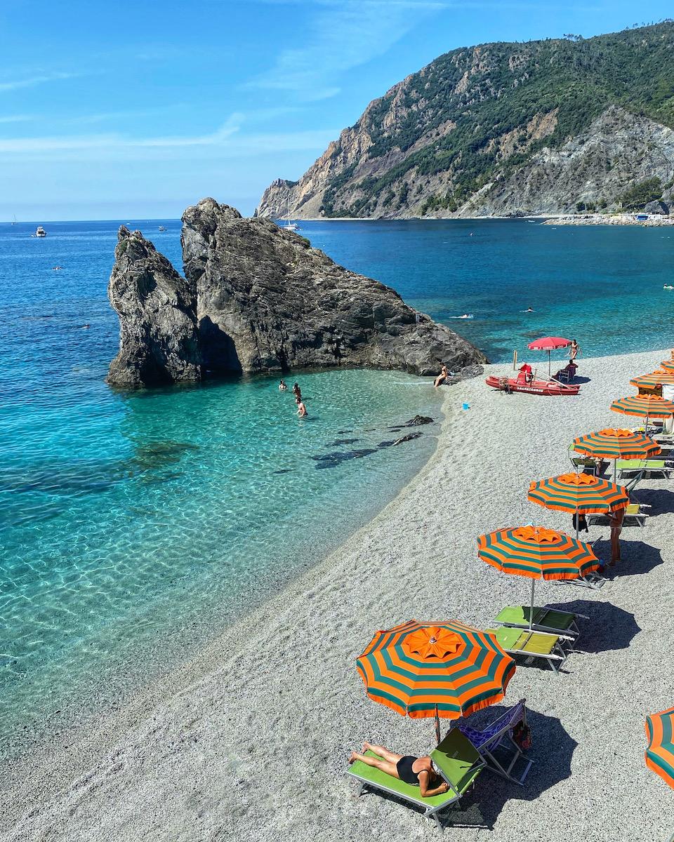 Cinque Terre Monterosso al Mare roadtrip Noord Italie