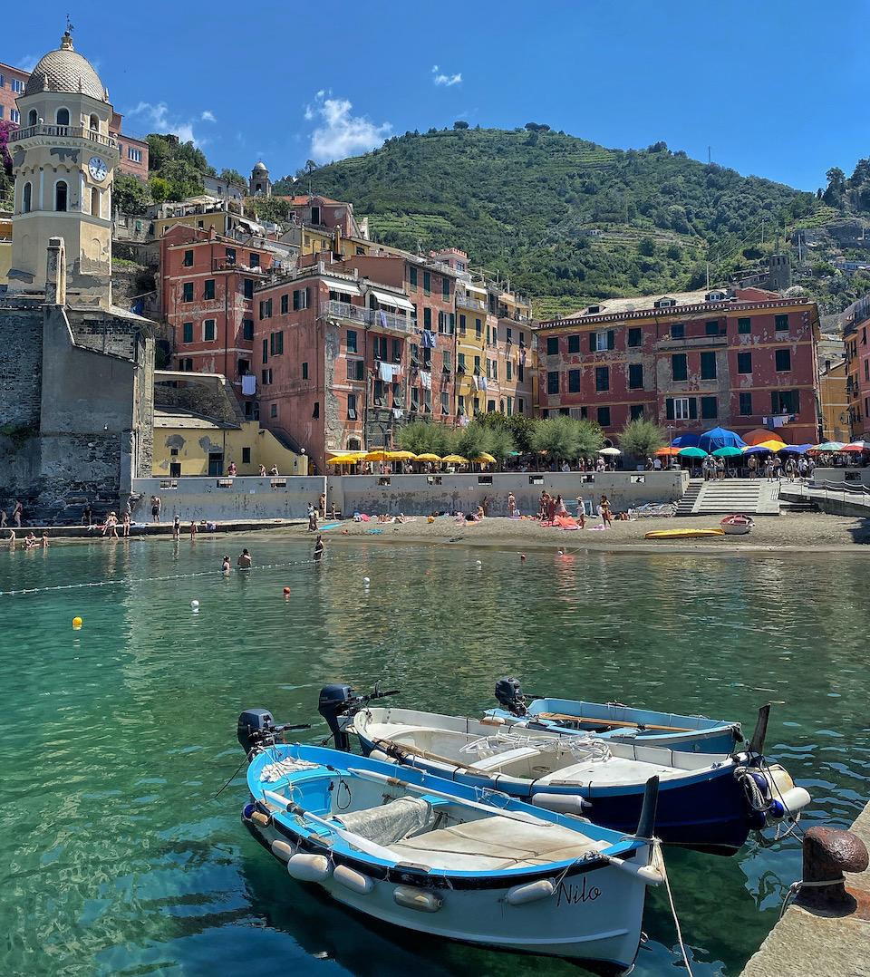 Cinque Terre Vernazza roadtrip Noord Italie