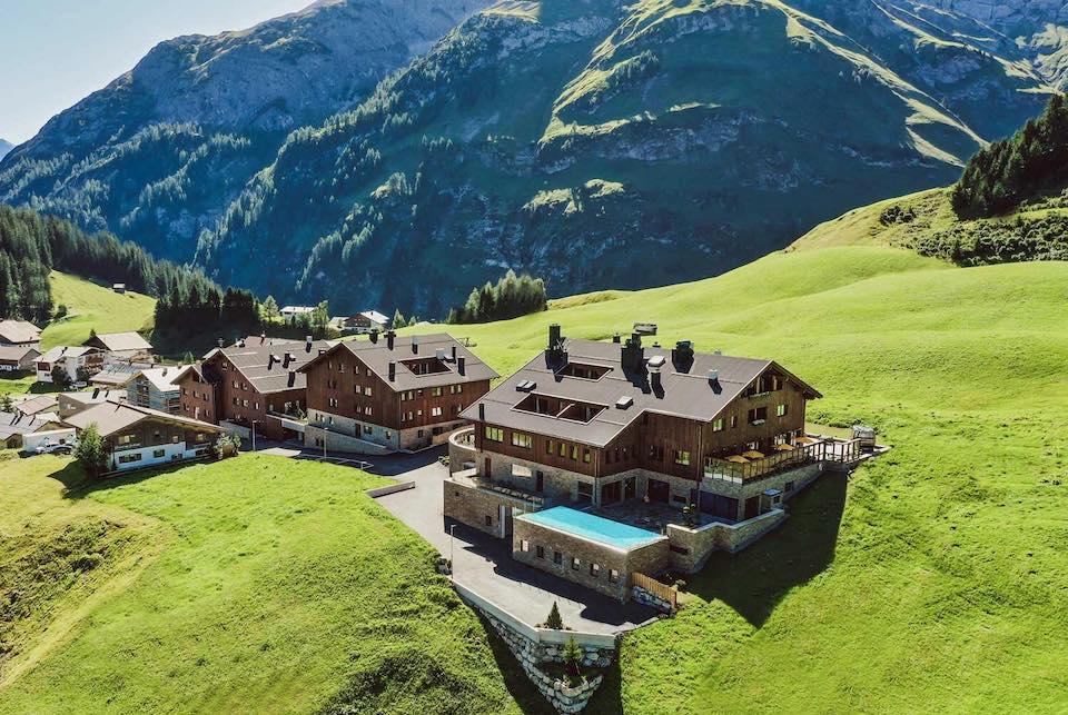 Pure Resort Warth Voralberg in de omgeving van Lech en Sankt Anton