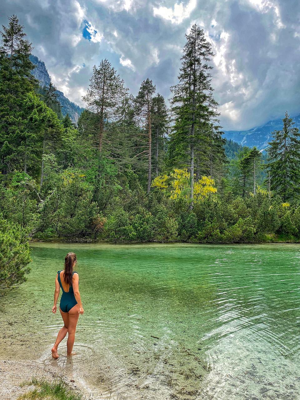 Lago di Tovel Trentino Noord Italie roadtrip