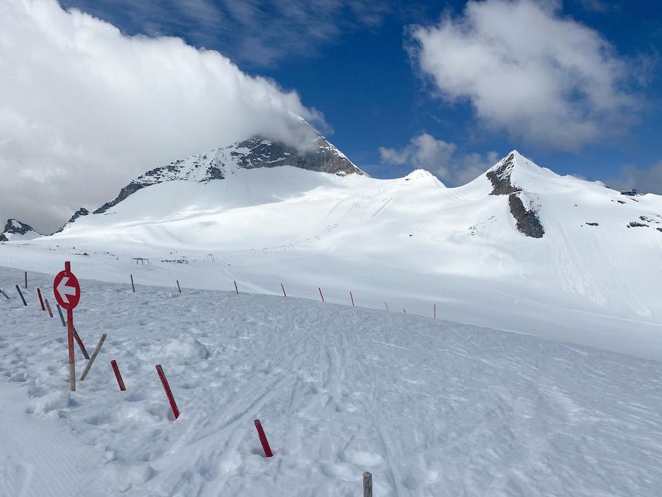 Zomer skiën op de Hintertuxer- piste mogelijkheden