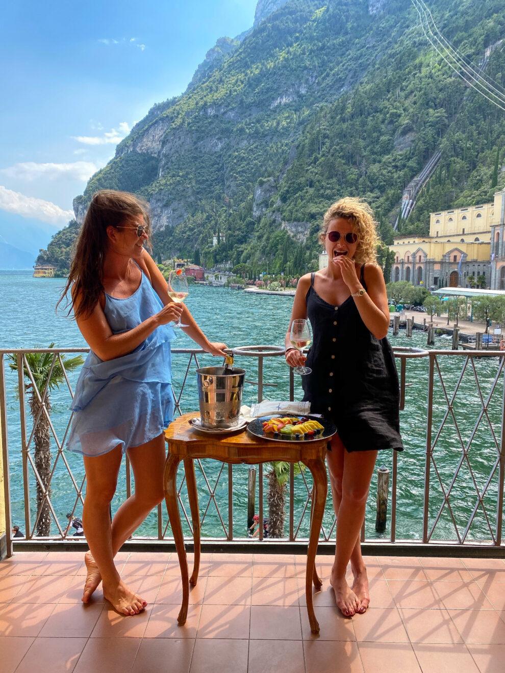 Overnachten Riva del Garda - het mooiste hotel met uitzicht op het Gardameer