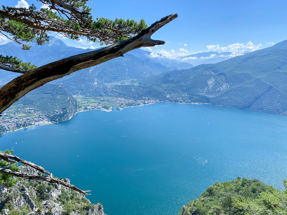 Via Feratta Cima Capi Riva del Garda dingen doen rondom Gardameer