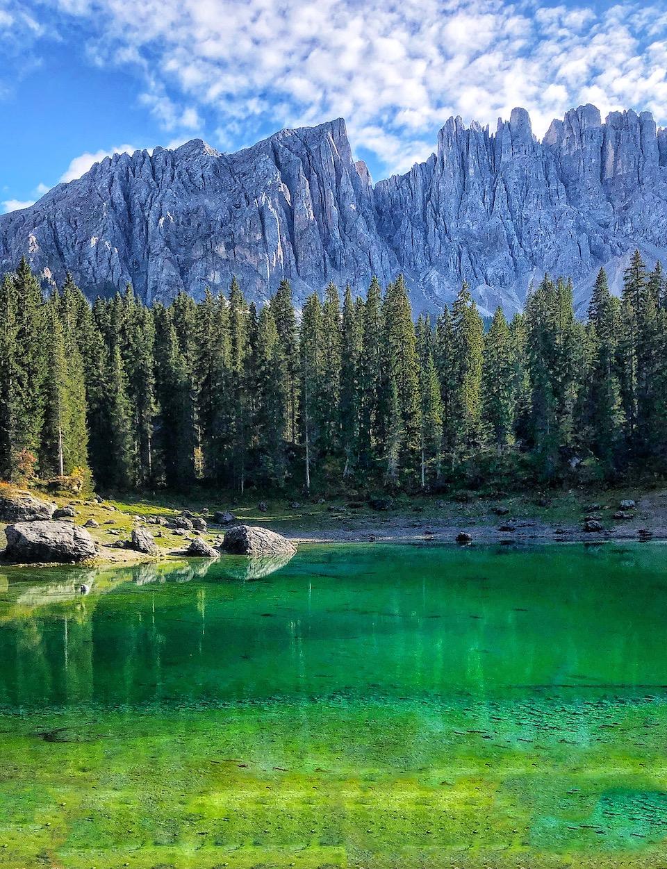 Lago di Carezza Noord Italie roadtrip bezienswaardigheden