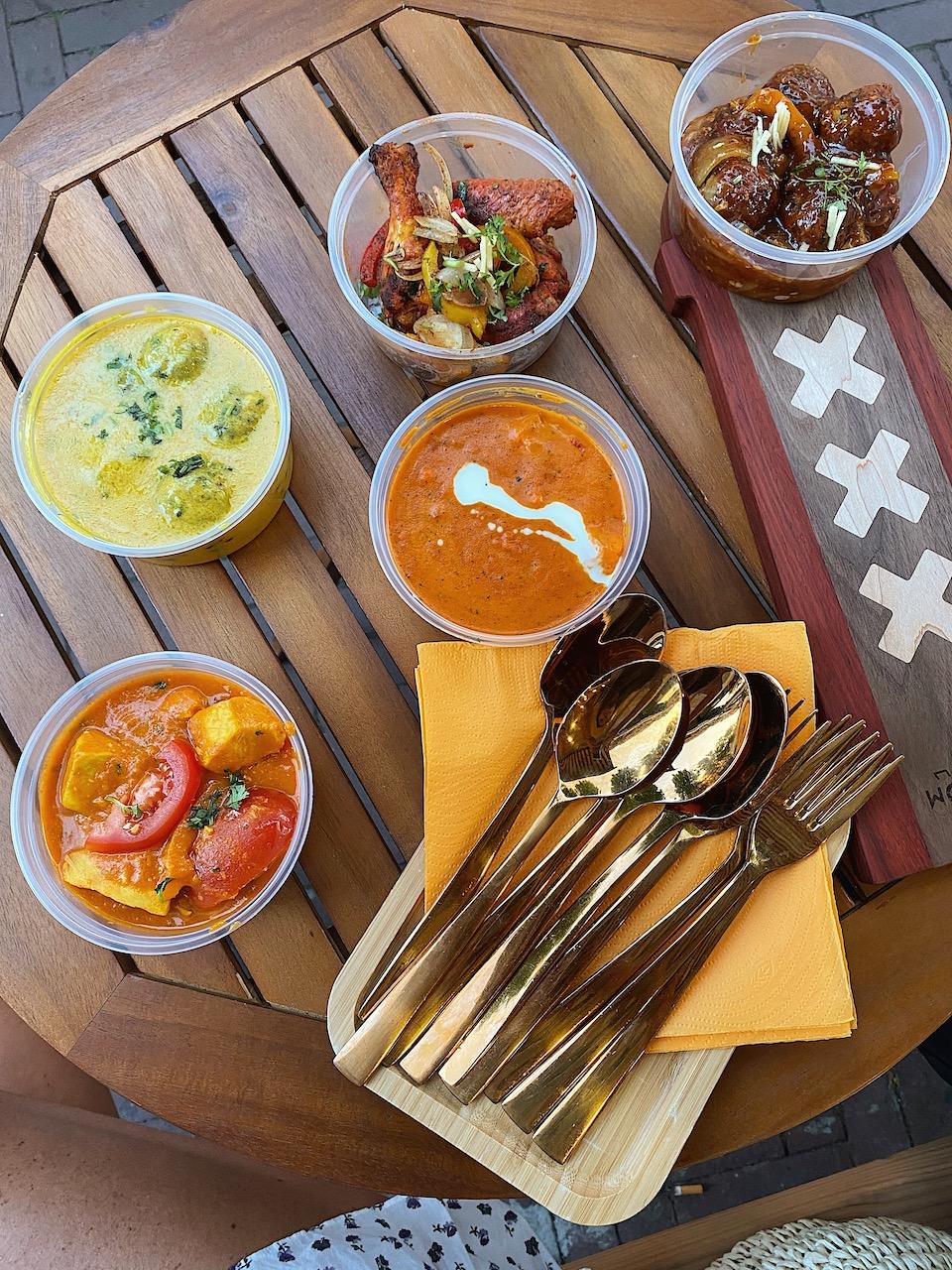 best indian food Amsterdam take-away Indiaas eten