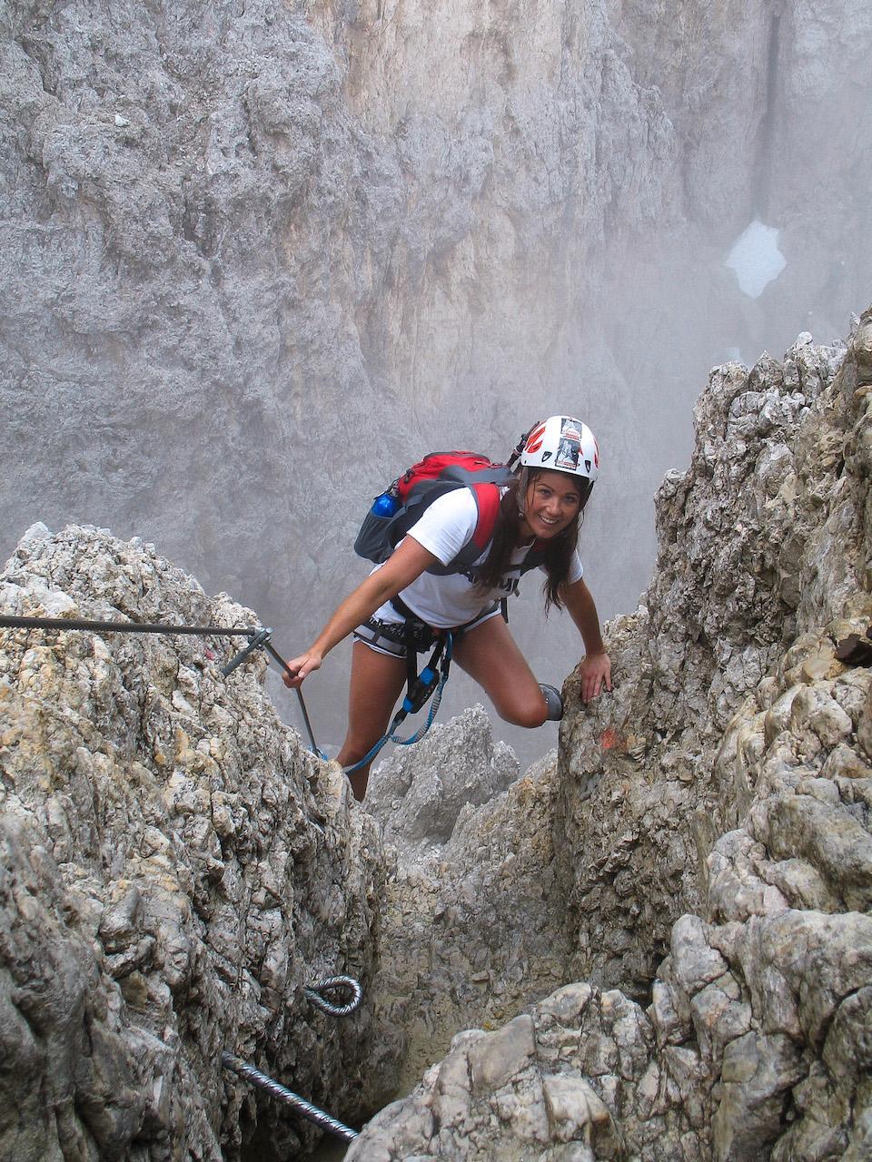 Klettersteigen in de Dolomieten - via feratta