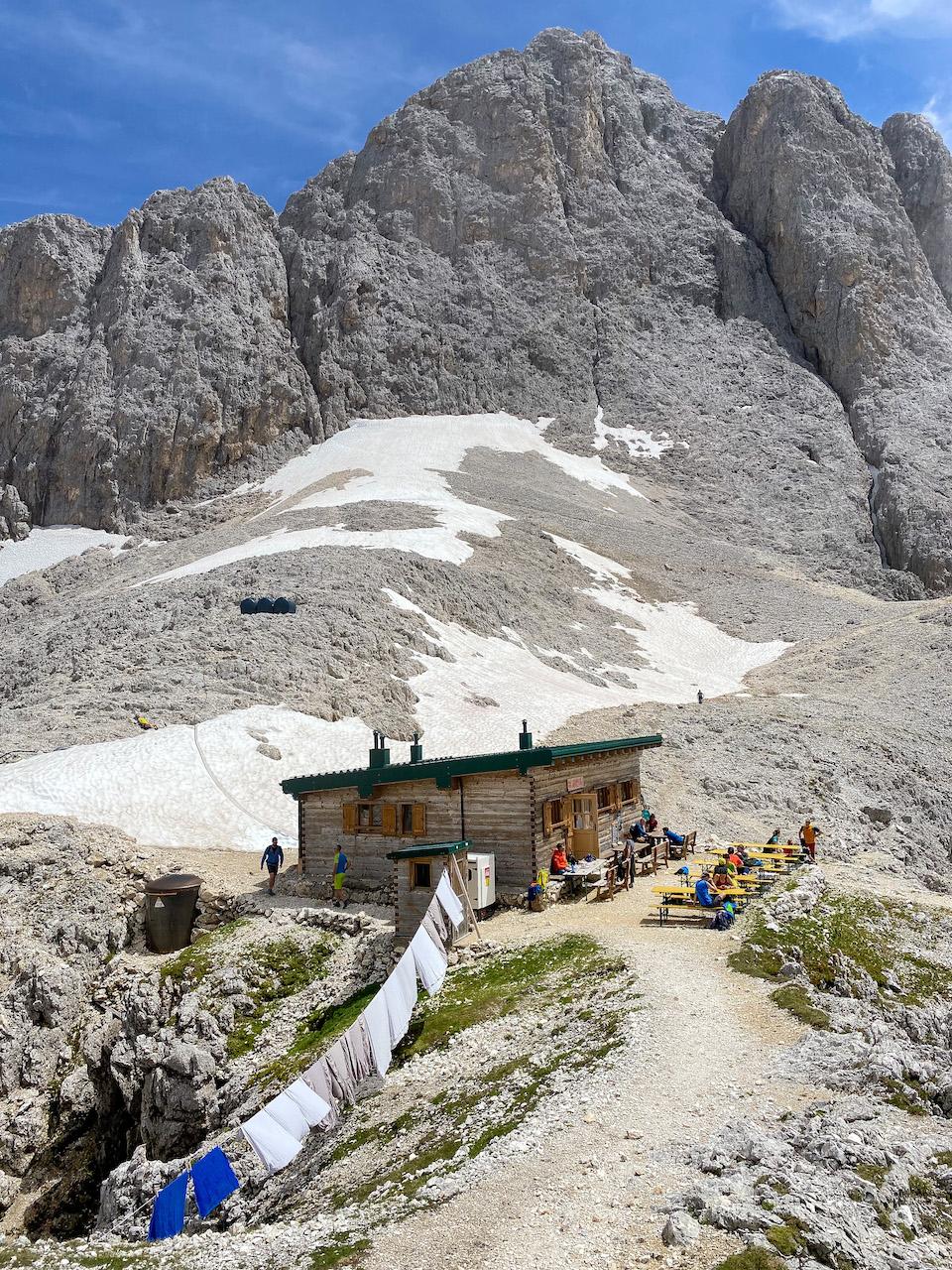 Santnerpasshütte Carezza - Zuid Tirol