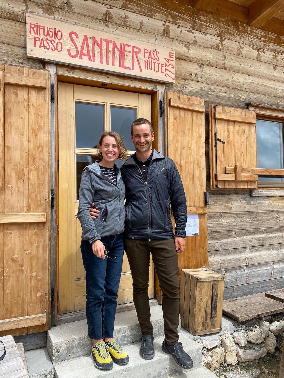 Romina & Michel Santnerpasshütte -Santnerpasshütte - Carezza - Zuid Tirol
