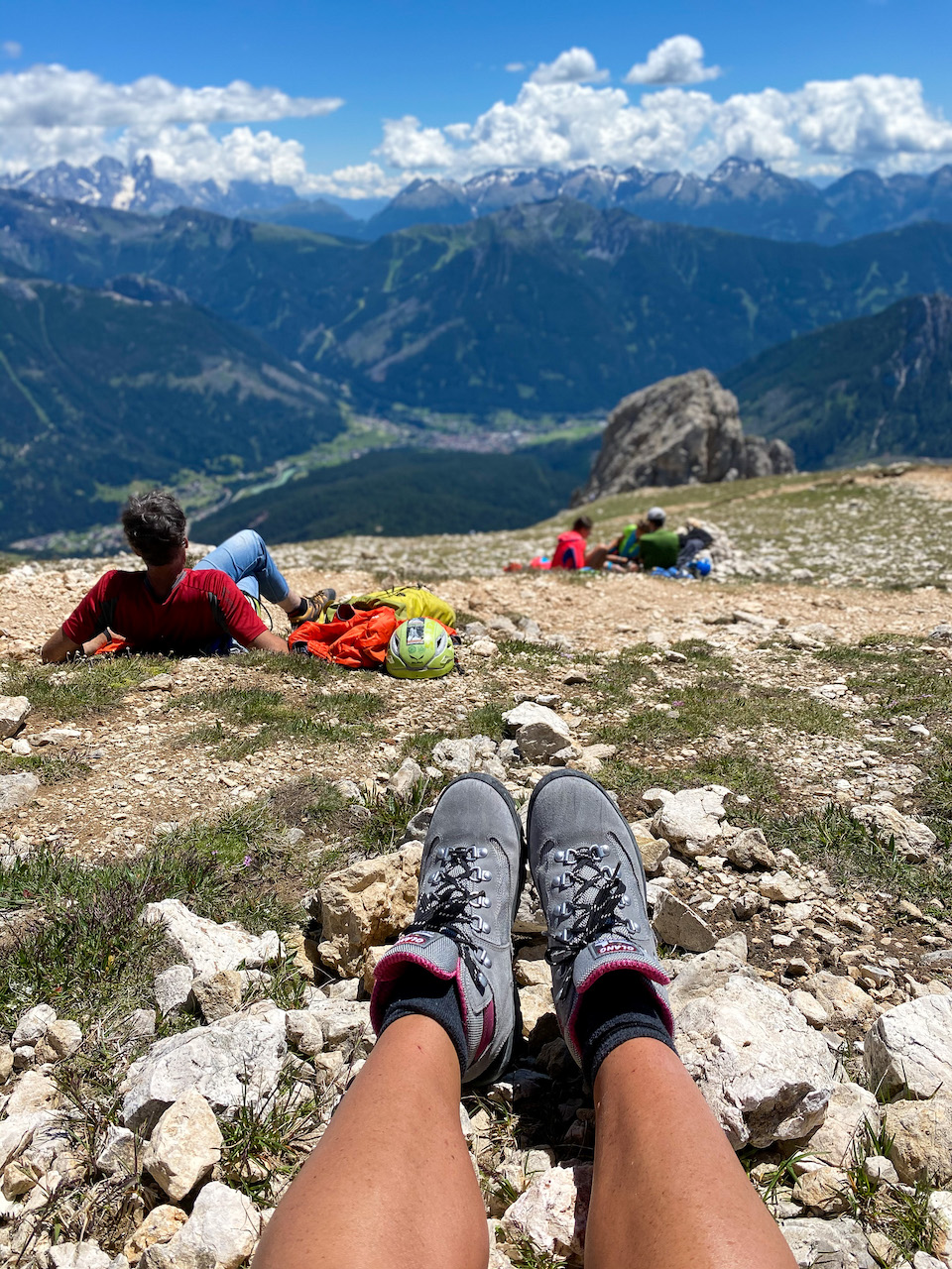 Huttentocht in de Dolomieten Roda Di Vael 2804 m