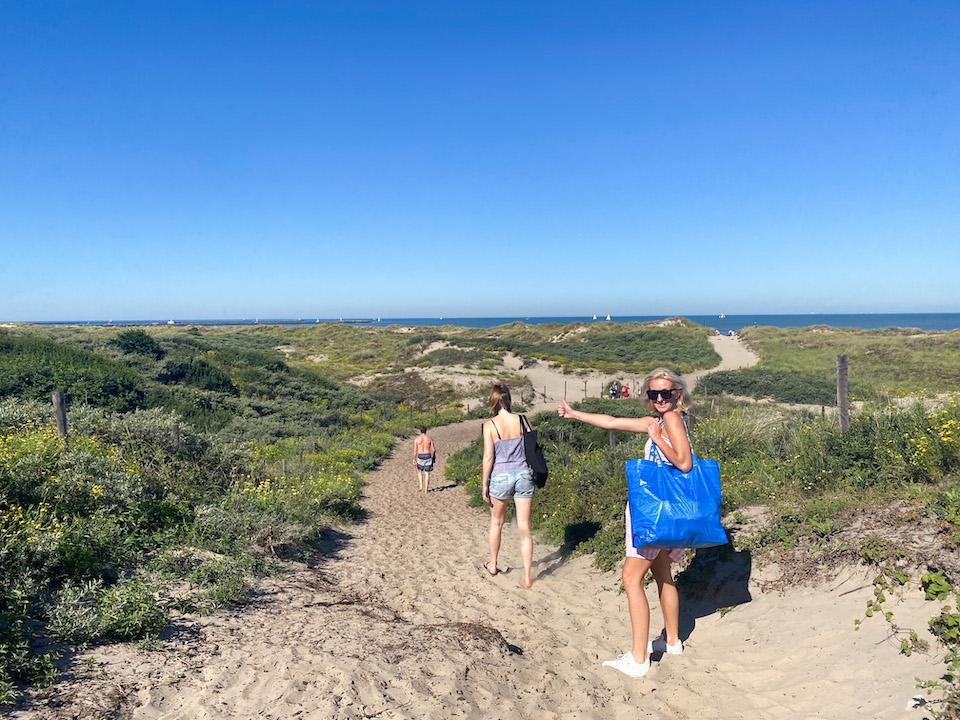 Wijk aan Zee Noordpier duinen Velzen Noord