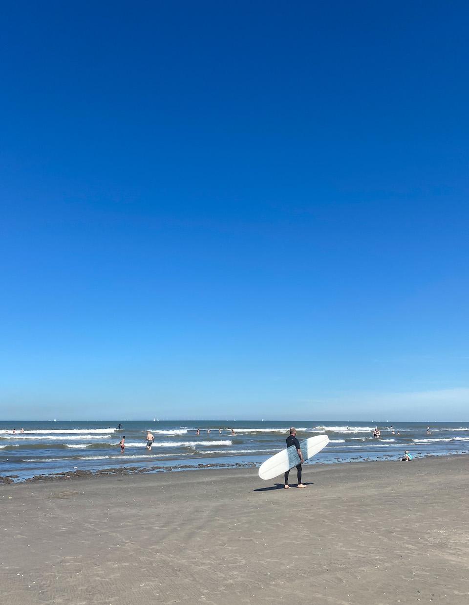 surfenlessen in Wijk aan Zee