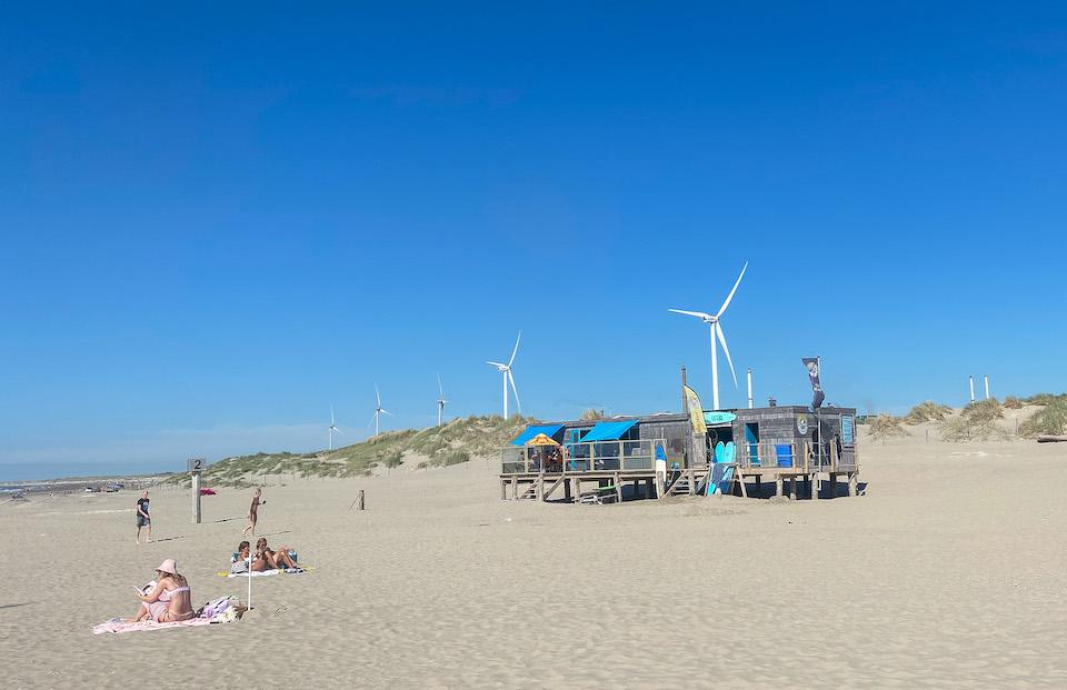 surfschool OzlinesSurf Wijk aan Zee de Noordpier Velzen Noord