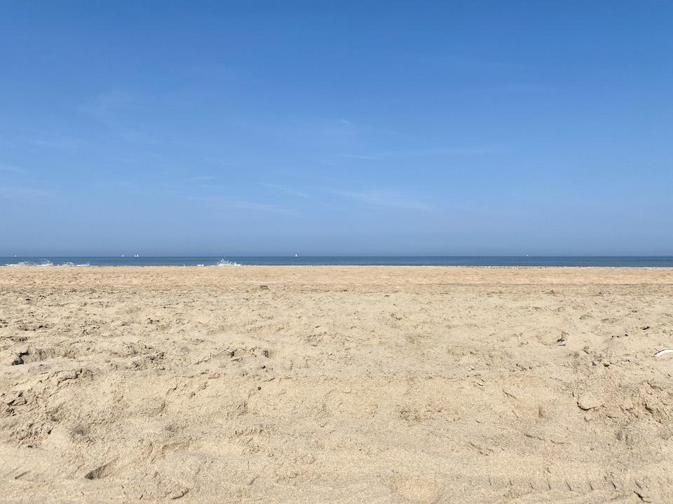 naaktstrand Zandvoort aan Zee