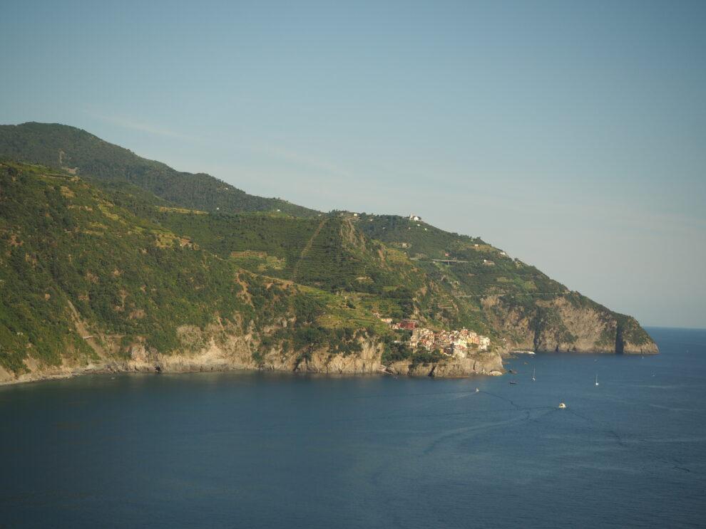 uitzicht vanaf Corniglia