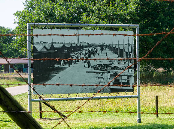 Kamp Westerbork in Drenthe
