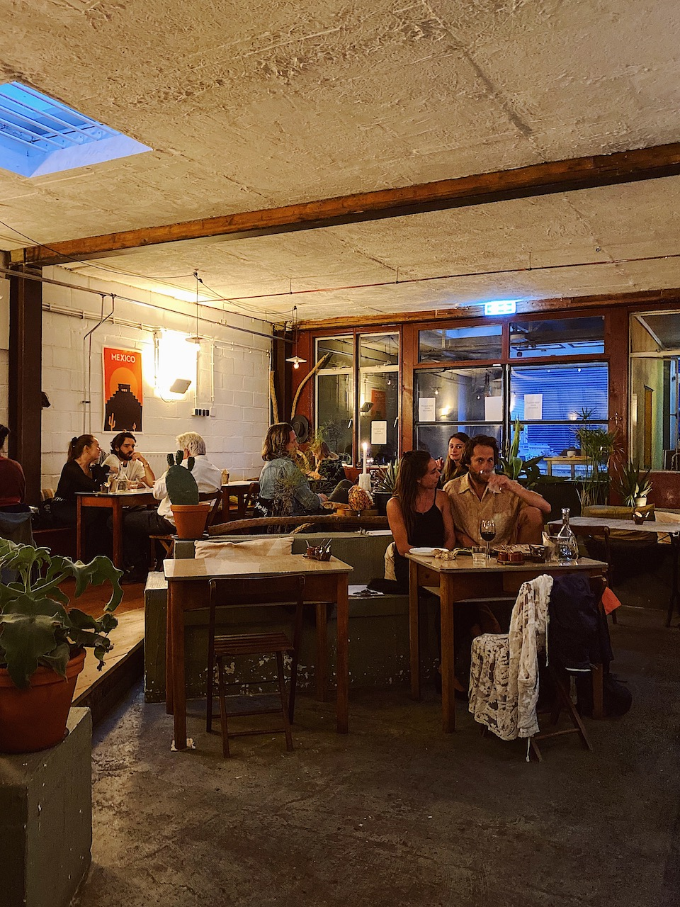 Taqueria Bacalar Interieur foto's