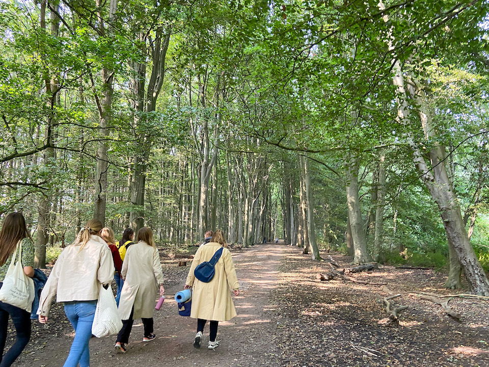 The Forest Bathing Circle - Amsterdamse Bos - ervaring - review
