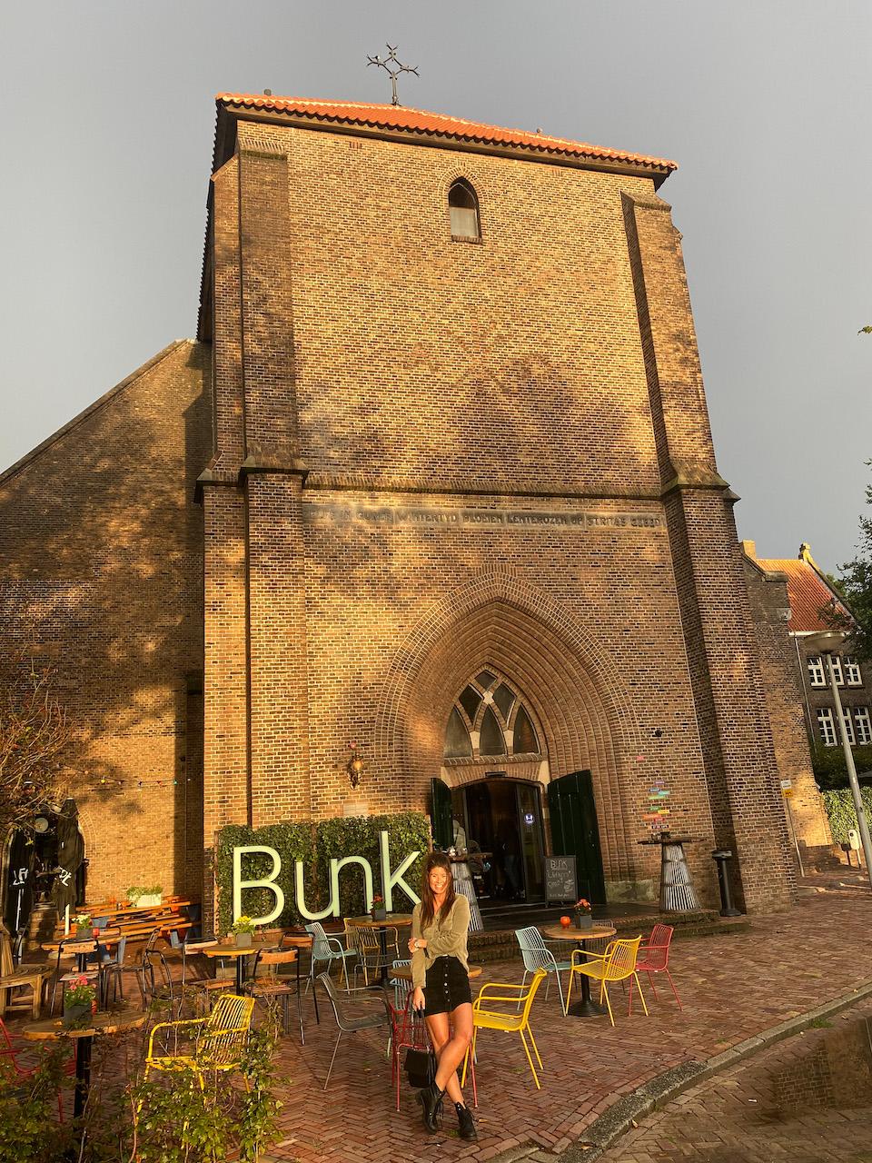St. Rita kerk in Amsterdam Noord wordt Hotel Bunk - Chloe Sterk blogger review