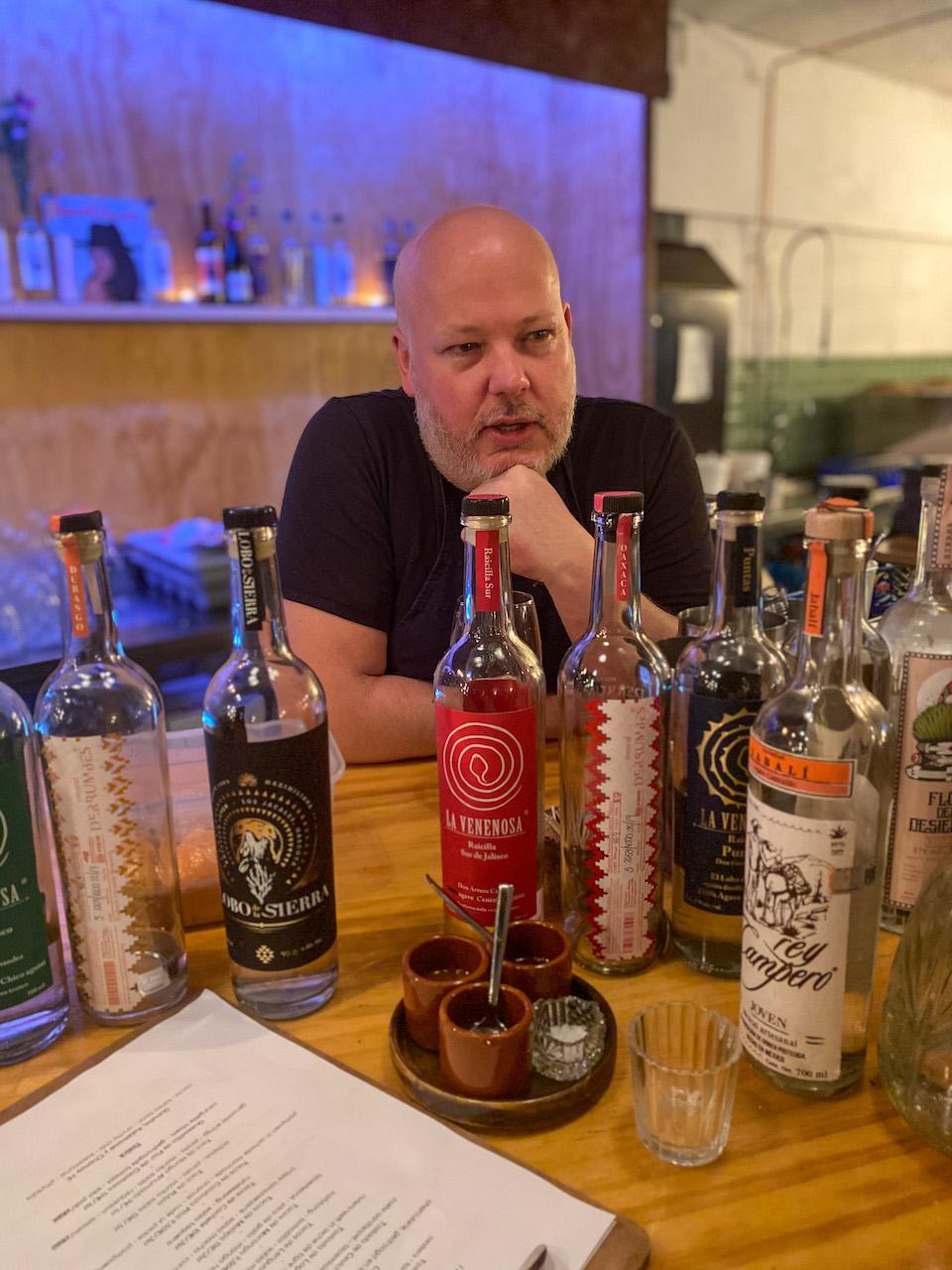 Joachim de Buck - eigenaar chef-kok Taqueria Bacalar