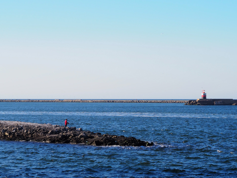 vissershaven IJmuiden, vakantie in eigen land