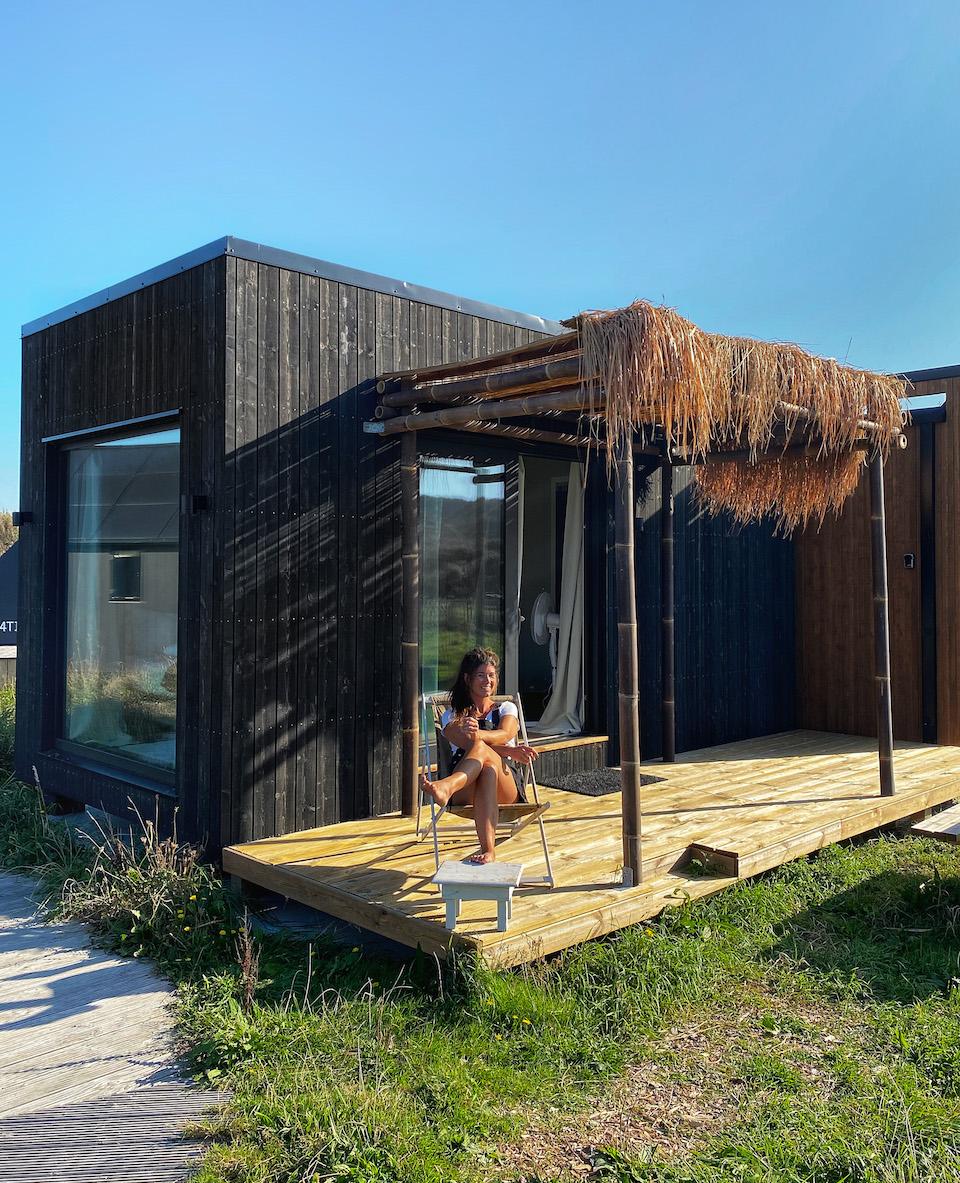Basecamp IJmuiden natuurhuisje aan zee, Rauw aan Zee