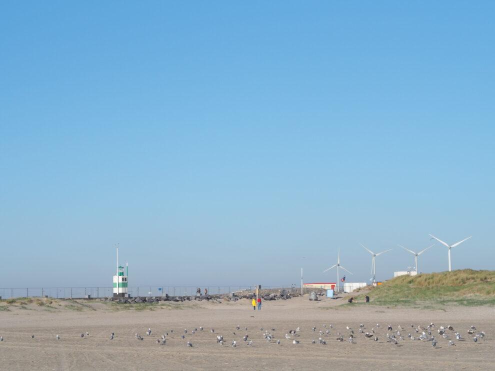 IJmuiden strand, Rauw aan Zee, mooiste strand van Nederland