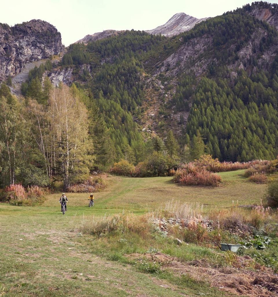 National Park Gran Paradiso mountainbiken en wandelen