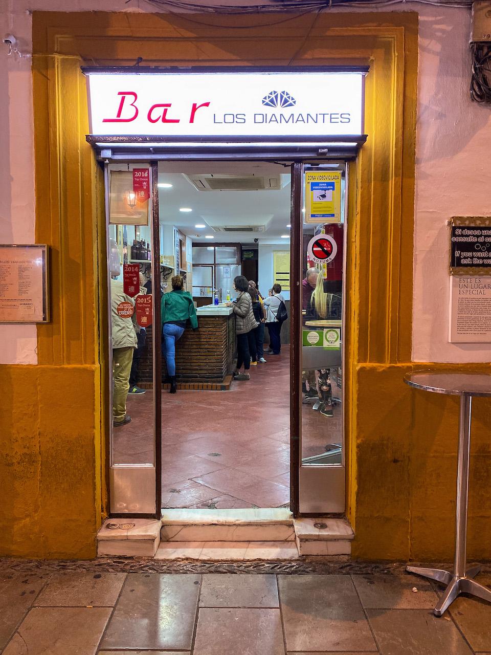 Los Diamantes - de lekkerste tapas van Spanje Granada