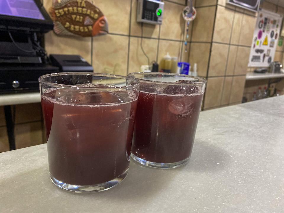 Tinto de Verano drinken in Granada