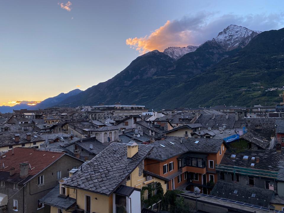 Valle D'Aosta dingen doen, Aosta