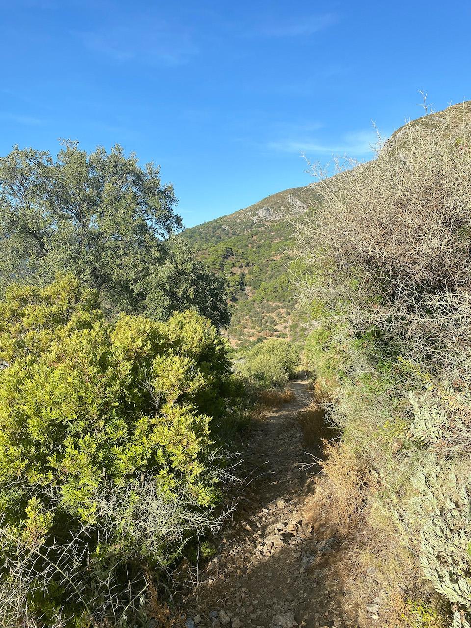 Pico de la Concha: hiken in de buurt van Marbella
