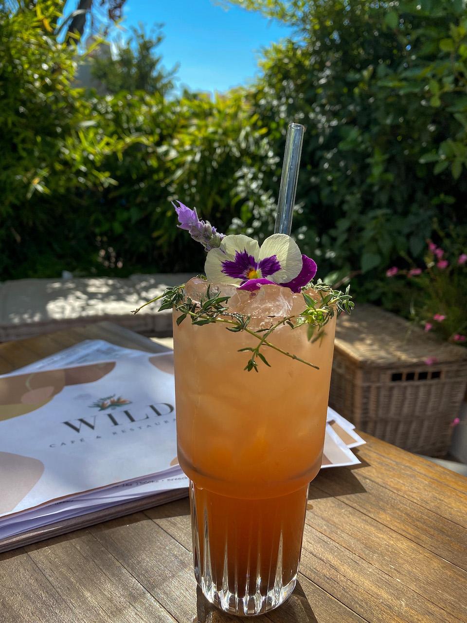 menu Wild Cafe & Restaurant Marbella