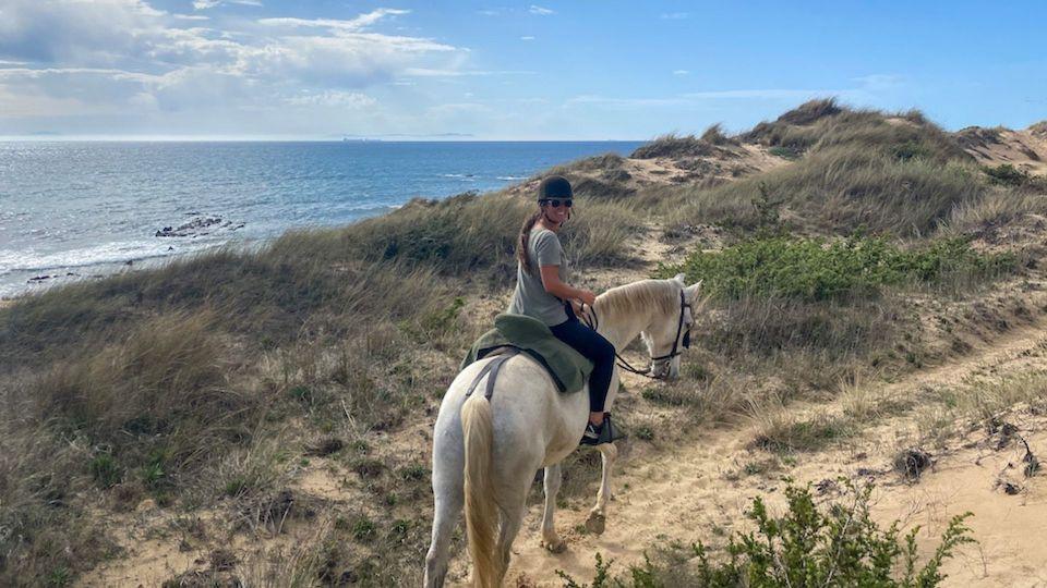 Paarden rijden in Tarifa Punta Paloma