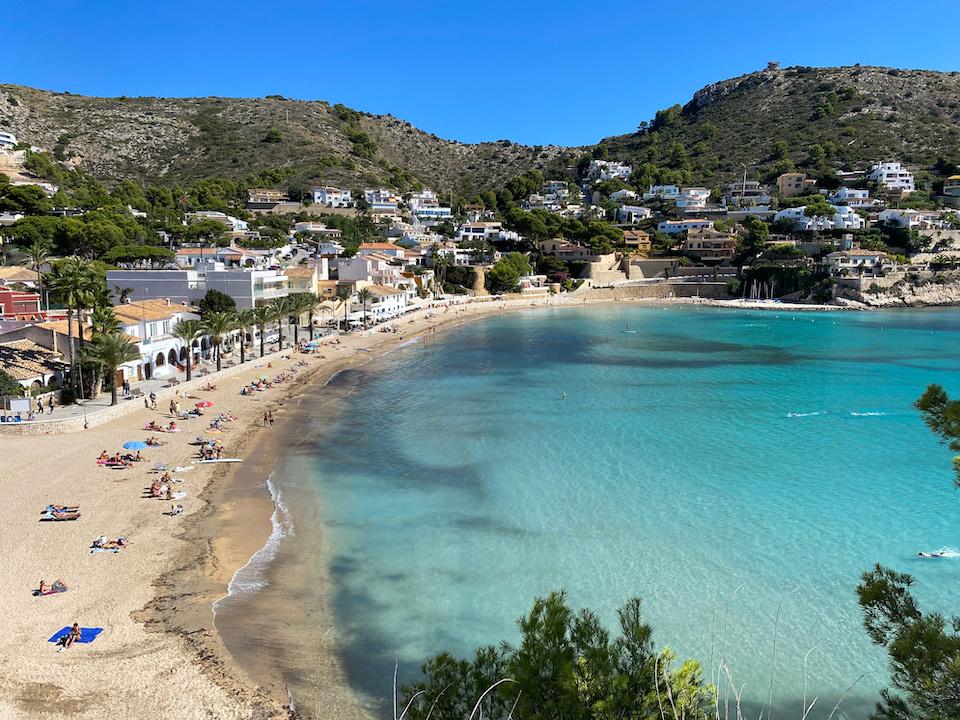 Mooiste strand Costa Blanca El Portet