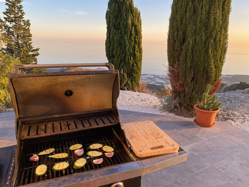 BBQ in spanje - andalusie - Polopos
