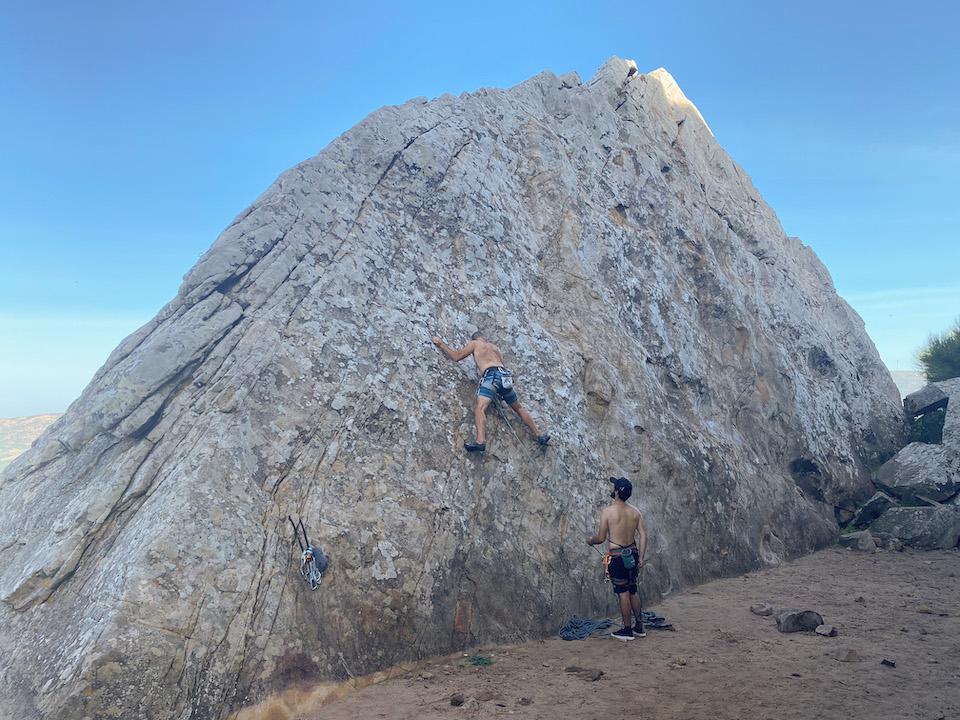 klimmen in Tarifa - San Bartolo