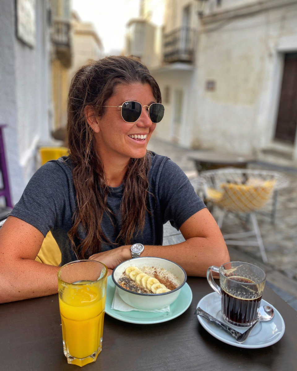 Ontbijt in Vakantie Tarifa  - Cafe 10 - Chloe Sterk