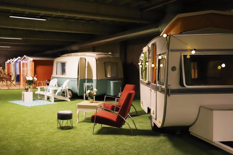 Vakantie in eigen land - staycation Amsterdam Outside inn camping