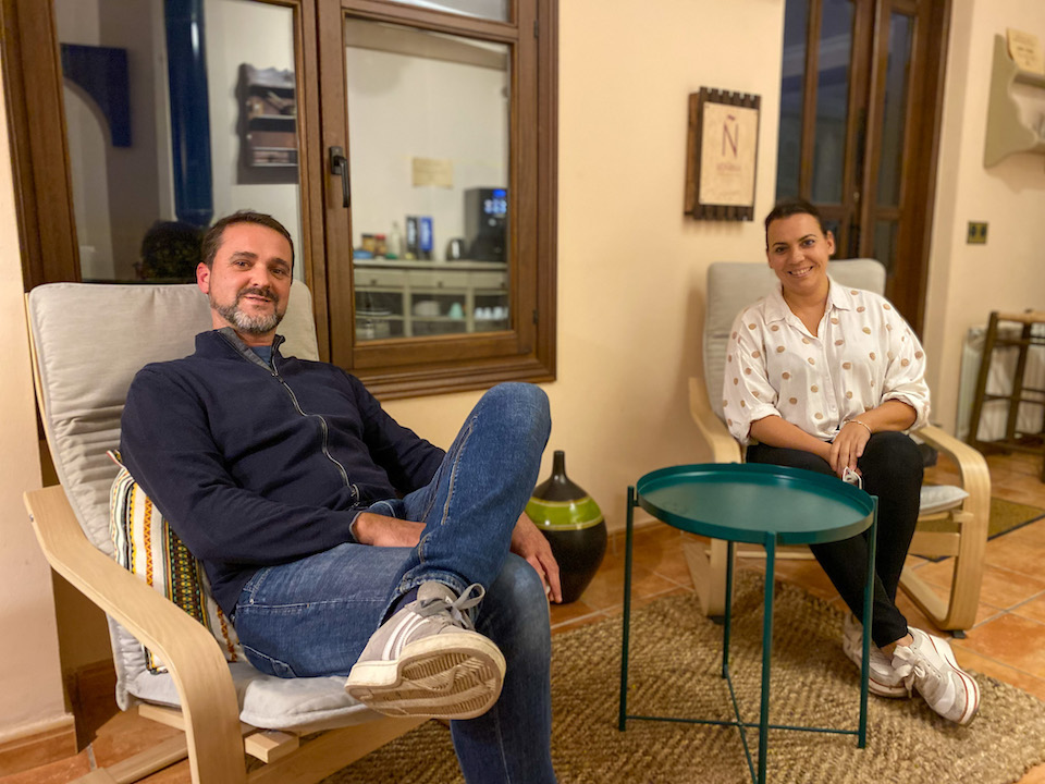 Overnachten in de alpujarras Hotel Rural Alfajía de Antonio.