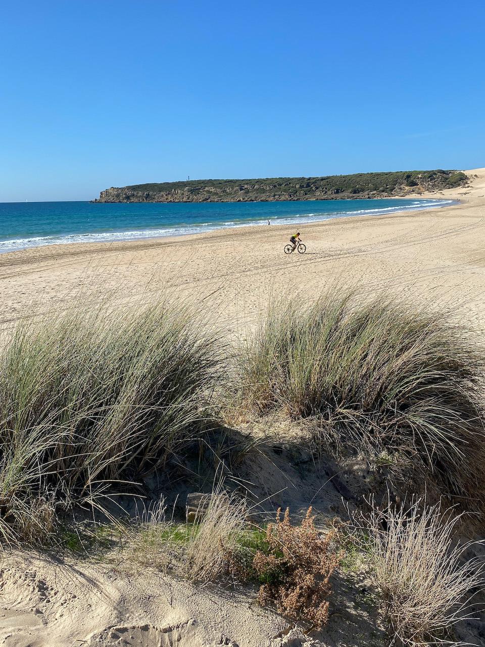Playa Bolonia mooiste strand van tarifa