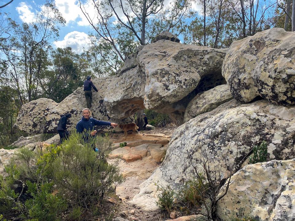 boulderen in Tarifa / Cadiz omgeving - Zona Bulder EL Helechal