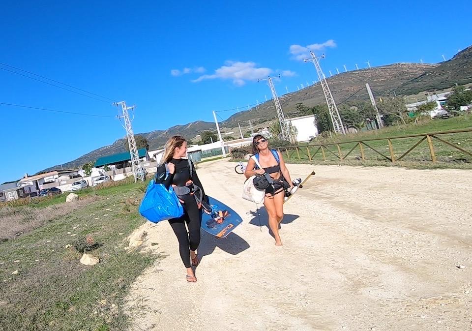 Leren kitesurfen in Tarifa Kau Pi Kite door Harmen Bakker - Valdevaqueros