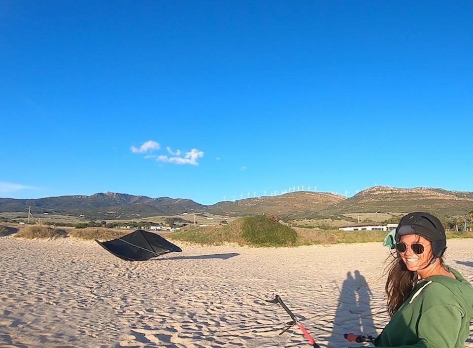 Leren kitesurfen in Tarifa bij Kau Pi Kite