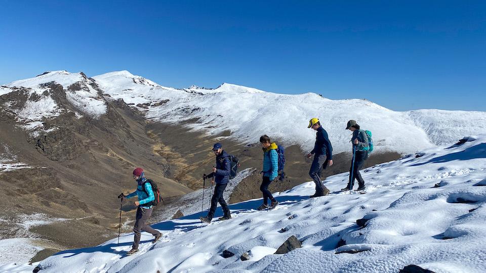 Wandelen naar Pico del Caballo - Sierra Nevada