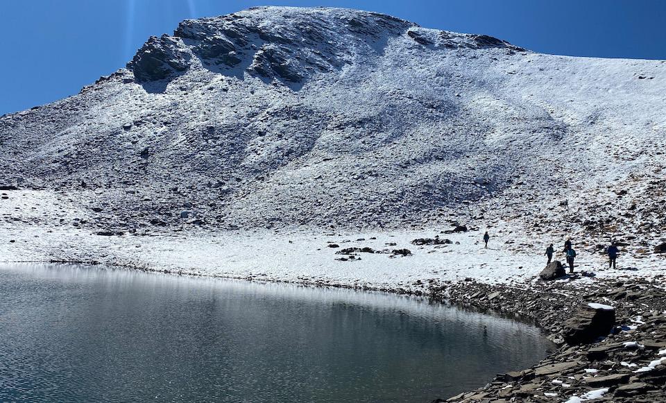 Laguna del Caballo - Wandelen in Alpujarras Sierra Nevada