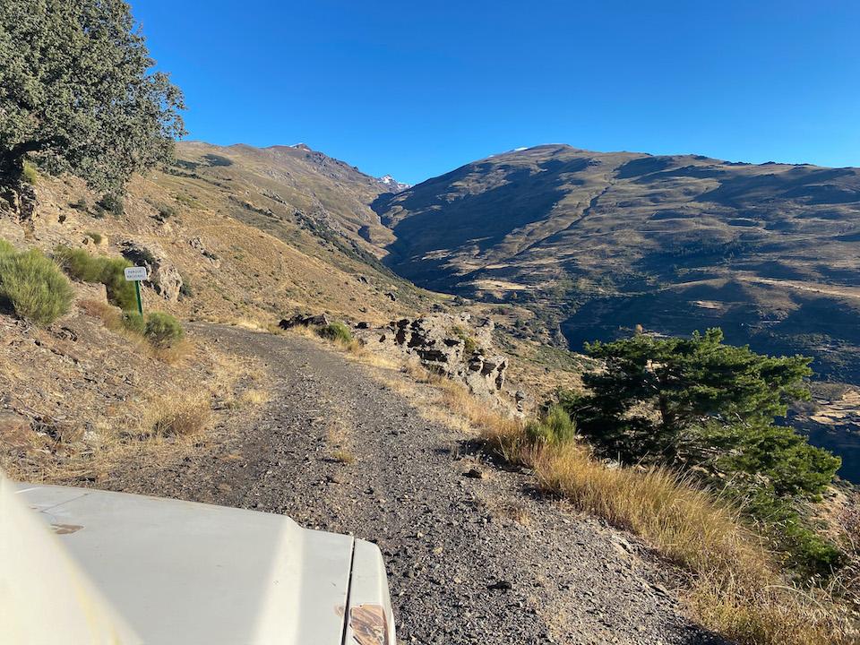 Lanjarón vallei - Alpujarras hike wandelen in Sierra Nevada