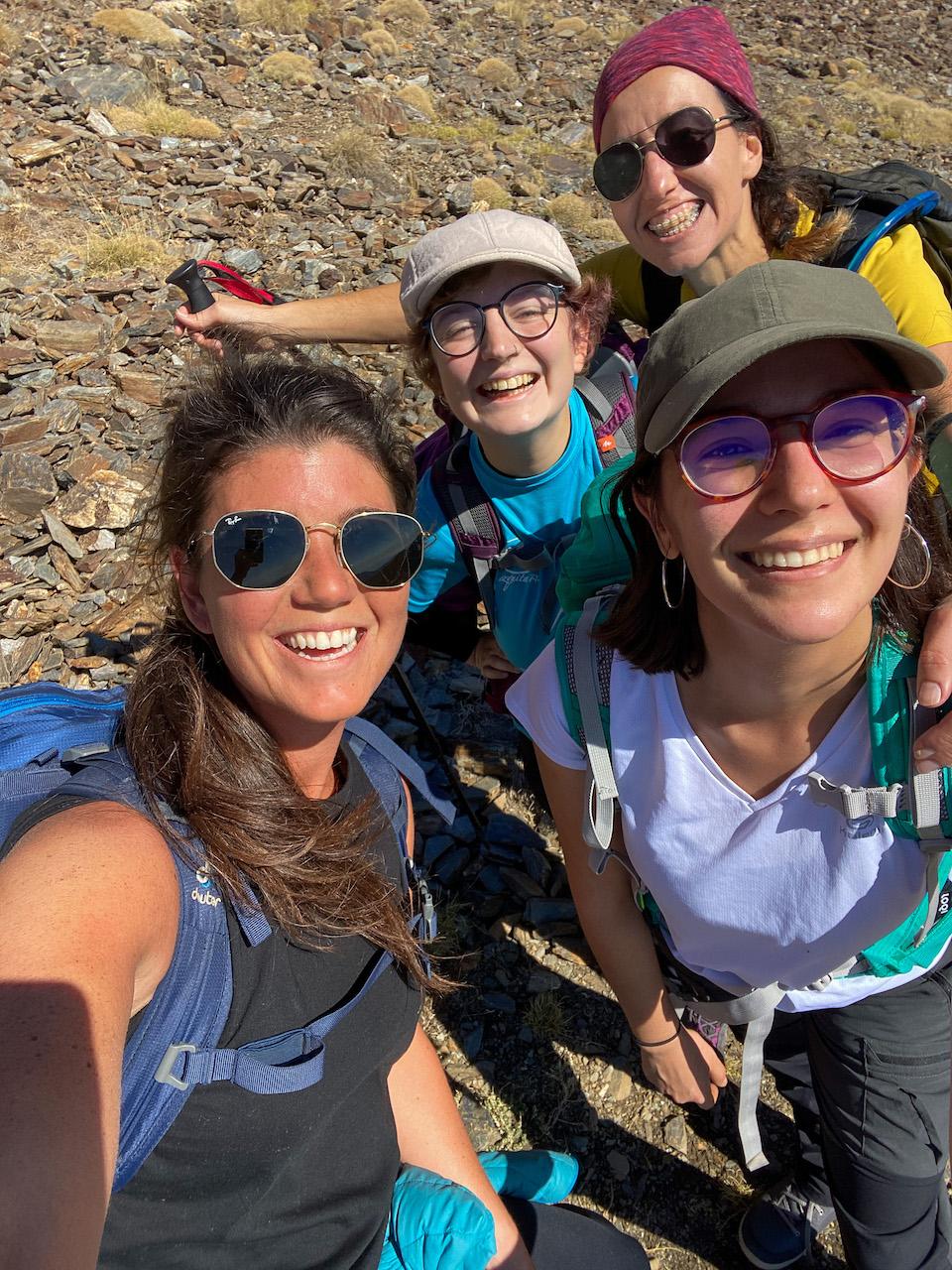 Chloe Sterk - wandelen in Sierra Nevada