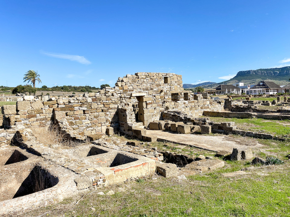 Baelo Claudia Bolonia bezienswaardigheden en sightseeing in Tarifa