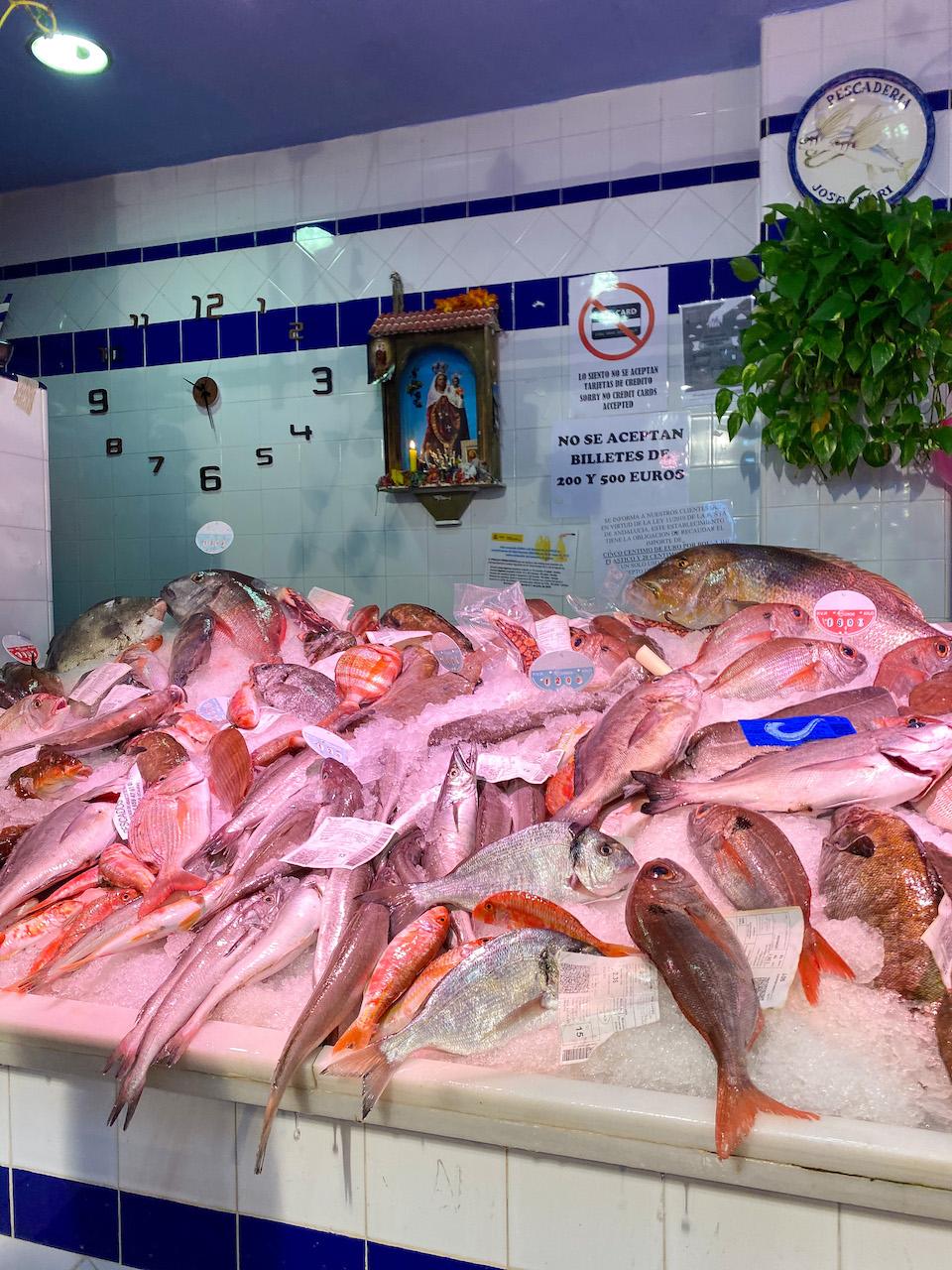 monumenten en bezienswaardigheden Tarifa - stadswandeling Mercado de Abastos